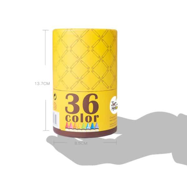 36 Piece Washable Wax Crayons