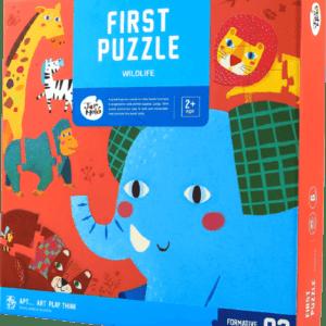 My First Puzzle Wildlife Animals
