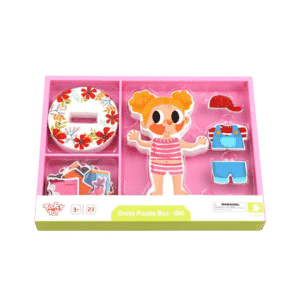 tooky toy magnetic dress up girl