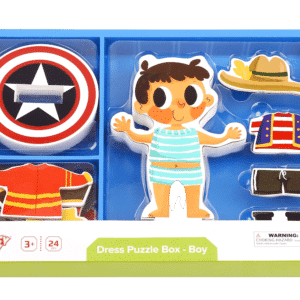 tooky toy magnetic dress up boy