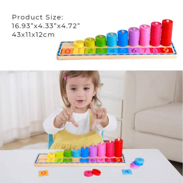 Counting Stacker Kids Toys