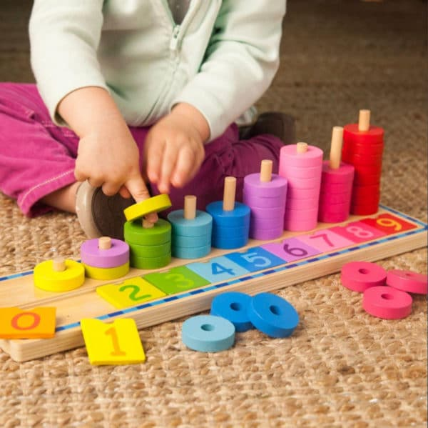 Counting Stacker Toy
