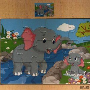 12 piece puzzle