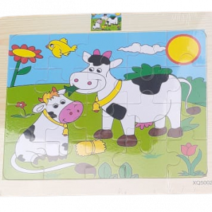 20 Piece Puzzle - Farm Animals