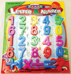 magnetic number kids toy