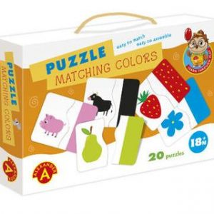 kids puzzles matching colours