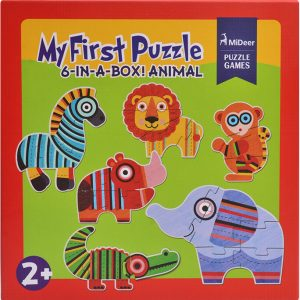 Mideer My First Animal Puzzle - educational kids toys