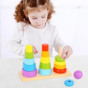 shape stacker 3pc tooky toy