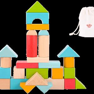 Wooden Jumbo Colour Blocks