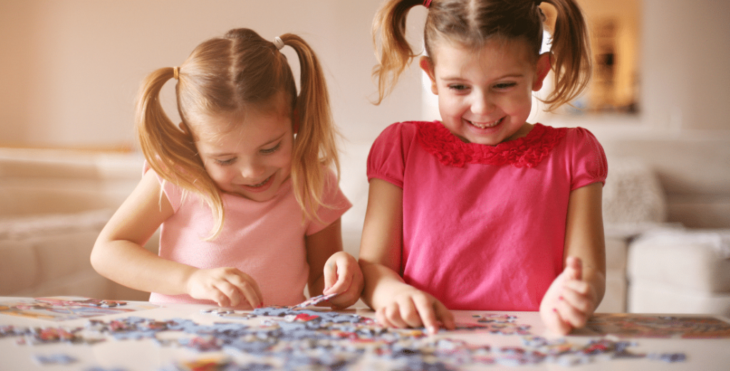 Benefits of doing puzzles for young children