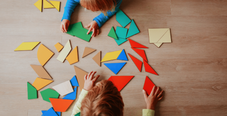 The benefits of puzzle building for toddlers and young children